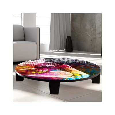 TAF DECOR Butterfly Girl Coffee Table