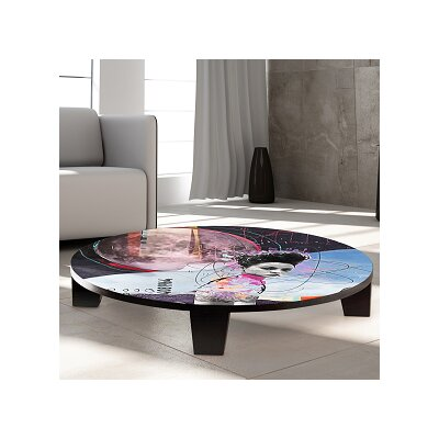 TAF DECOR Under the Pale Moonlight Table Art