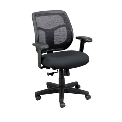 Eurotech Seating Apollo Mid-Back Mesh Swivel Office Chair