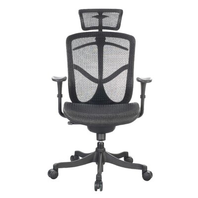 Eurotech Seating Fuzion Mid-Back Mesh Desk Chair