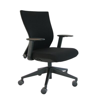 Eurotech Seating High-Back Executive Office Chair with Adjustable Arms Image