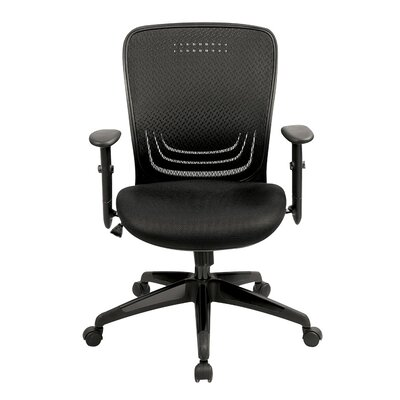 Eurotech Seating High-Back Mesh Executive Office Chair with Adjustable Arm
