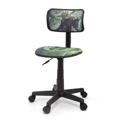 Idea Nuova Star Wars Yoda Mesh Task Chair