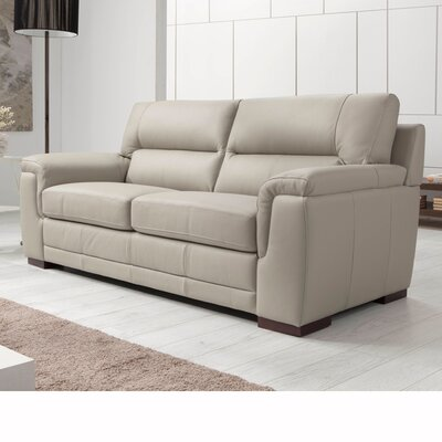 Wade Logan Albany Leather 3 Seater Sofa