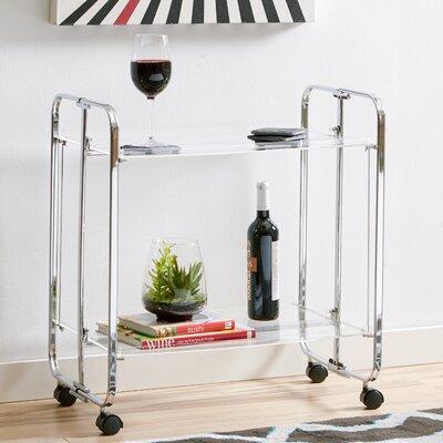 Zipcode™ Design Stacey Acrylic Bar Cart