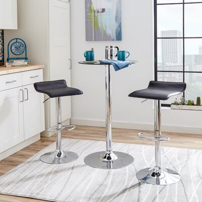 Zipcode™ Design Adjustable Height Swivel Bar S..