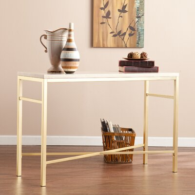 Zipcode™ Design Lindsey Console Table in Travertine
