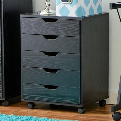 Zipcode™ Design Riley 5 Drawer Halifax Mobile Cabinet