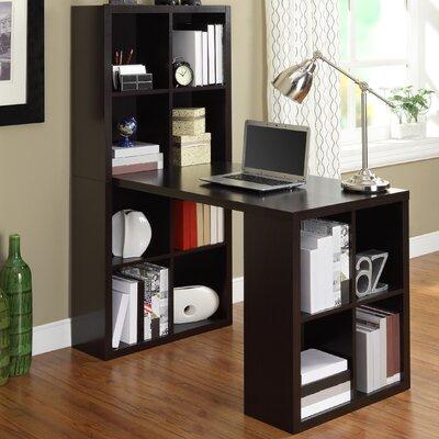 Zipcode™ Design Kayla Writing Desk with Bookcase
