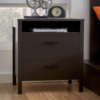 Zipcode™ Design Lorraine 2 Drawer Nightstand
