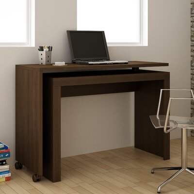 Zipcode™ Design Erica Writing Desk with Nested L-Shaped Desk