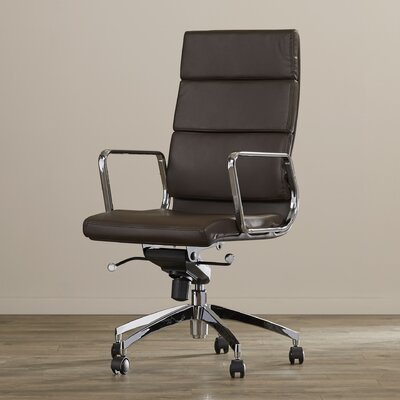 Zipcode™ Design Ezra High-Back Leather Desk Chair