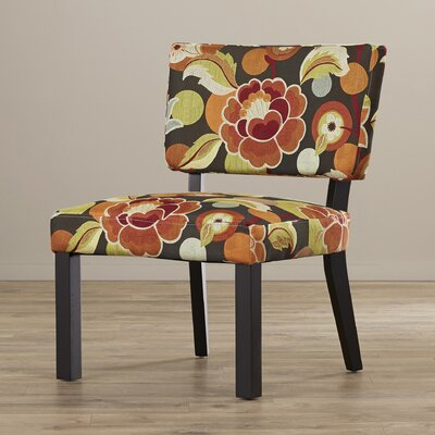 Zipcode™ Design Kaitlyn Floral Print Fabric Slipper Chair