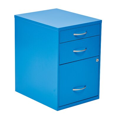 Zipcode™ Design Cassandra 3 Drawer Vertical Filing Cabinet
