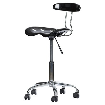 Zipcode™ Design Ivan Mid-Back Desk Chair with Tractor Seat