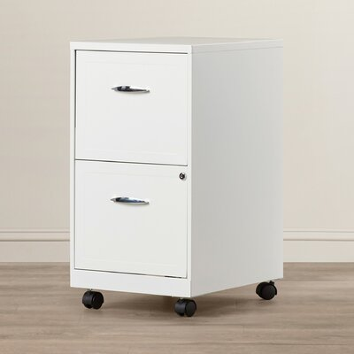 Zipcode™ Design Gigi 2 Drawer Mobile File Cabinet