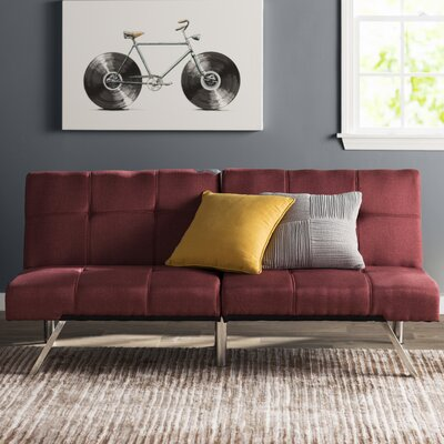 Zipcode™ Design Piper Upholstered Futon With Mattress
