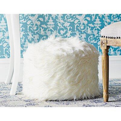 Zipcode™ Design Maricela Fuzzy Pouf Ottoman