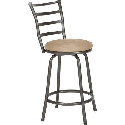 Swivel Bar Chair zipcode design deandre swivel bar stool & reviews | wayfair