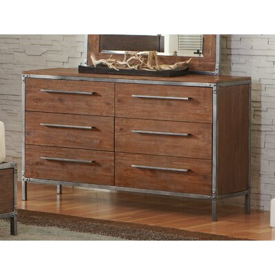 Wildon Home ® Arcadia 6 Drawer Dresser