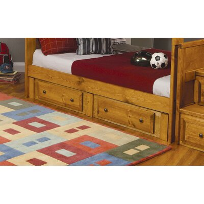 Wildon Home ® Wrangle Hill Trundle Unit