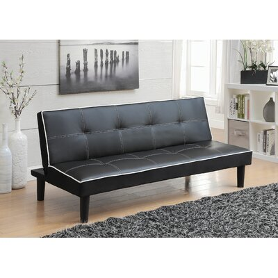 Wildon Home ® Leather Sleeper Sofa
