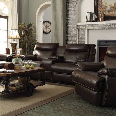 Wildon Home ® MacPherson Power Leather Recl..