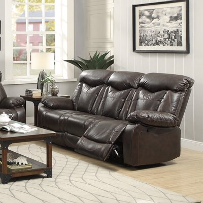Wildon Home ® Zimmerman Motion Leather Reclinin..