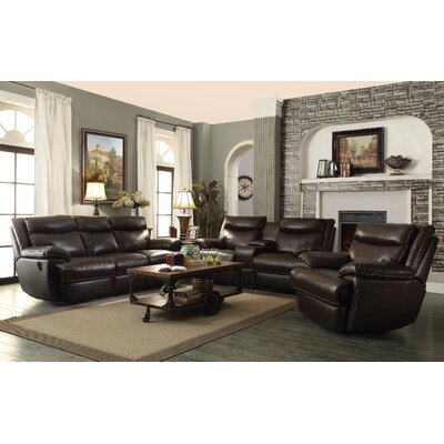 Wildon Home ® MacPherson Power Leather Reclini..