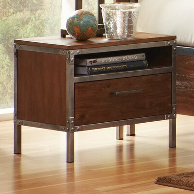 Wildon Home ® Arcadia 1 Drawer Nightstand