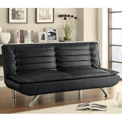 Wildon Home ® Leather Sleeper..
