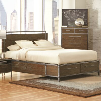 Wildon Home ® Arcadia Storage Platform Bed