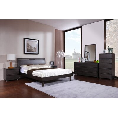 Hokku Designs Boma Queen Platform Customizable Bedroom Set
