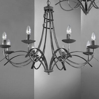 JH Miller Castel 8 Light Style Chandelier