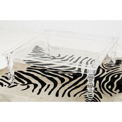 ModShop Lucite Beverly Hills Coffee Table