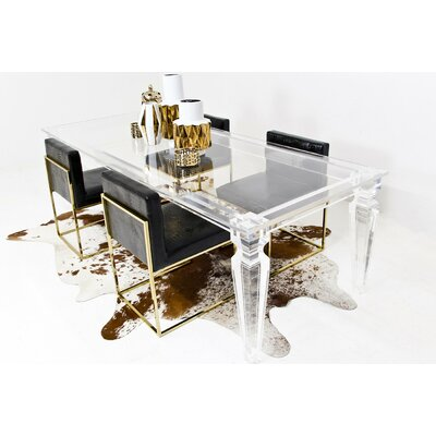 ModShop Palm Beach Dining Lucite Dining Table