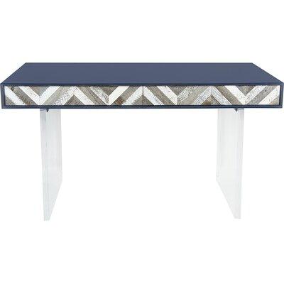 ModShop Capri Writing Desk with Lucite Leg