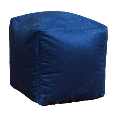 Home Loft Concepts Whitney Bean Bag Cube Ottoman