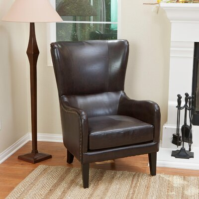 Home Loft Concepts Lorenzo Bonded Leather Chair