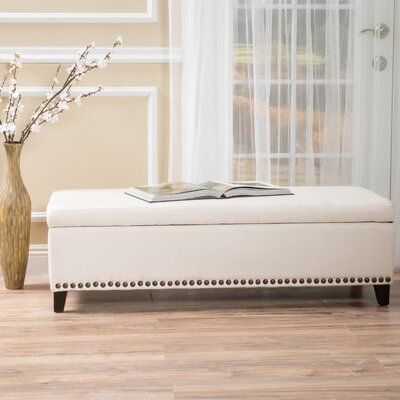 Home Loft Concepts Stipe Storage Bench Entryway Bench & Reviews ...