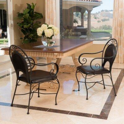 Home Loft Concepts Bleeker Iron Arm Chair