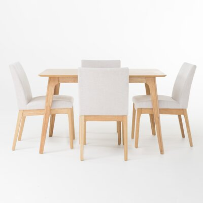 Home Loft Concepts Kinsley 5 Piece Dining Set