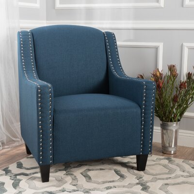 Home Loft Concepts Larkin Studded Club Chair