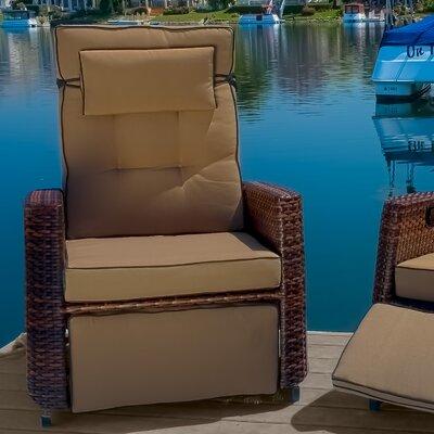 . Home Loft Concepts Cartegena PE Wicker Recliner   Reviews   Wayfair