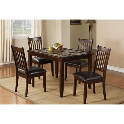 Red Barrel Studio Harvest Moon 5 Piece Dining Set