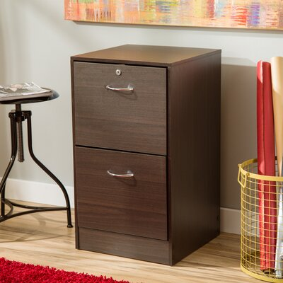 Andover Mills 2 Drawer Filing Cabinet