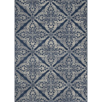 Andover Mills Blue/Gray Area Rug