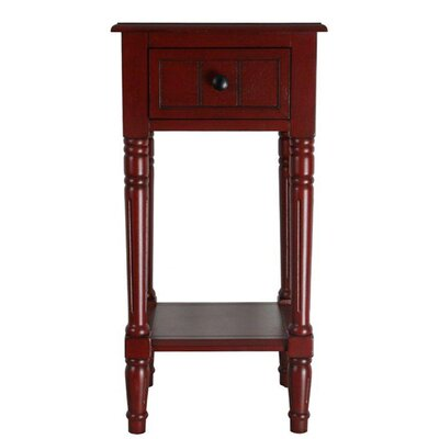 Andover Mills Carleton 1 Drawer End Table