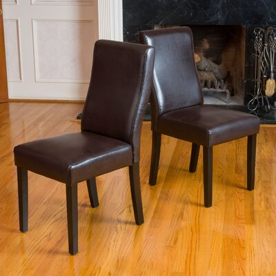 Andover Mills Ando Parsons Chair (Set of 2)