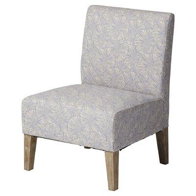 Andover Mills Violet Upholstered Floral S..